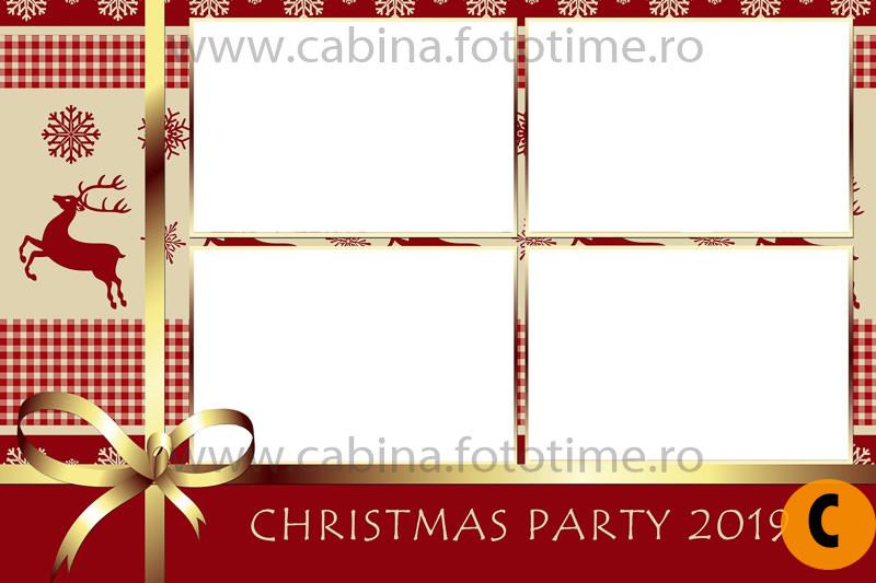Cabina foto petreceri Craciun Corporate - Cabina FotoTime